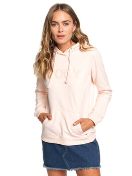 CLOUD PINK WOMENS CLOTHING ROXY JUMPERS - ERJFT03941-MCW0