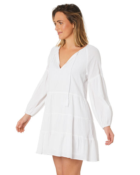 WHITE WOMENS CLOTHING SWELL DRESSES - S8211452_WHITE