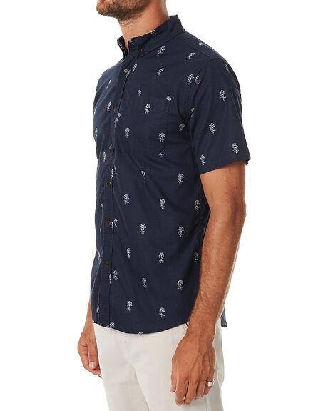 NAVY MENS CLOTHING KATIN SHIRTS - WVROSF16NVY