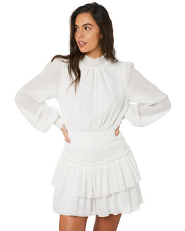 OFF WHITE WOMENS CLOTHING MINKPINK DRESSES - MP1909459OWHT