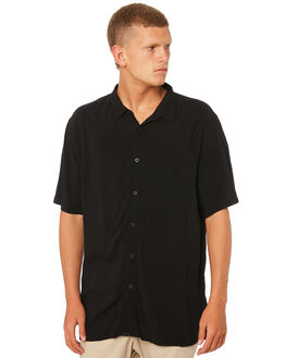 BLACK MENS CLOTHING ZANEROBE SHIRTS - 318-METBLK