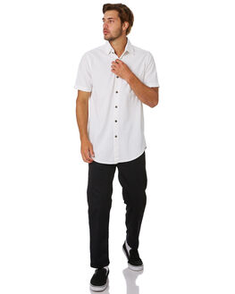 WHITE MENS CLOTHING THE PEOPLE VS SHIRTS - SS19099-WHT