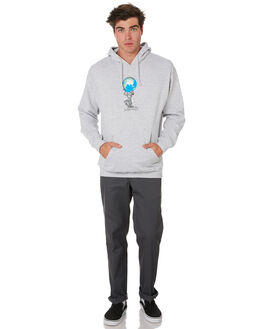 GREY HEATHER MENS CLOTHING PASS PORT JUMPERS - PPWORLDPWRHDGRYHT