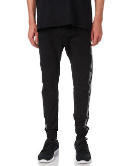 BLACK MENS CLOTHING NENA AND PASADENA PANTS - NPFBP001BLCK