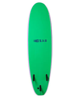 GREEN PURPLE BOARDSPORTS SURF DRAG SOFTBOARDS - DBCQUEEN7GRPUR