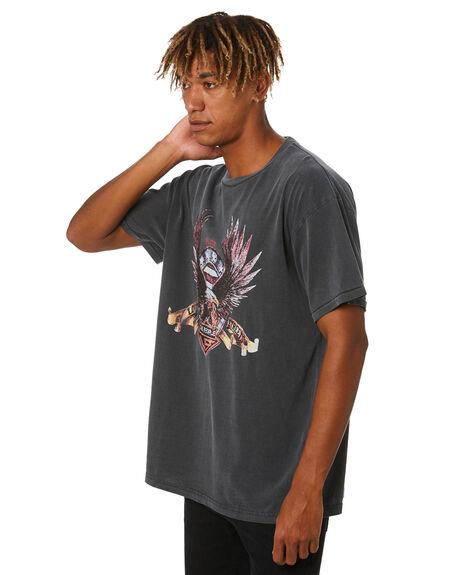 VINTAGE BLACK MENS CLOTHING THE PEOPLE VS TEES - HS20M008_VNBK