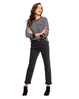 ANTHRACITE MARINA WOMENS CLOTHING ROXY TEES - ERJKT03557-XKWK