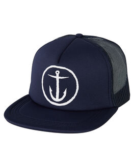 NAVY MENS ACCESSORIES CAPTAIN FIN CO. HEADWEAR - CH183025NVY