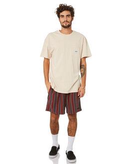 WARM WHITE MENS CLOTHING MISFIT TEES - MT093001WRMWH