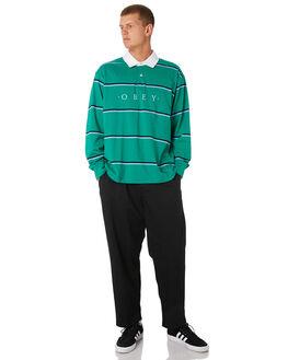 GROWTH GREEN MULTI MENS CLOTHING OBEY SHIRTS - 131040017GGM