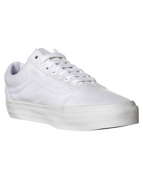 WHITE MENS FOOTWEAR VANS SKATE SHOES - SSVN-0D3HW00WHIM
