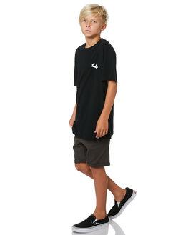 BLACK KIDS BOYS RUSTY TOPS - TTB0670BLK