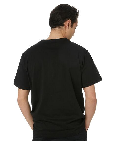 BLACK MENS CLOTHING POLER TEES - 55200027-BLK