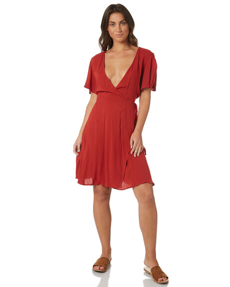 RUST WOMENS CLOTHING SWELL DRESSES - S8171465RUST