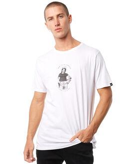 WHITE MENS CLOTHING MAYWOOD TEES - MTZ700WHITE