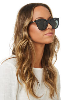 BLACK WOMENS ACCESSORIES LE SPECS SUNGLASSES - LSP1802483BLK