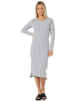 STRIPE WOMENS CLOTHING SWELL DRESSES - S8172477STRIP