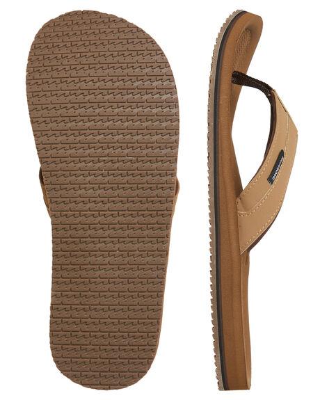 CAMEL MENS FOOTWEAR BILLABONG THONGS - 9685942CAM