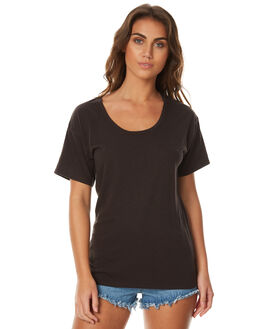 CHARCOAL WOMENS CLOTHING SWELL TEES - S8174001CHAR
