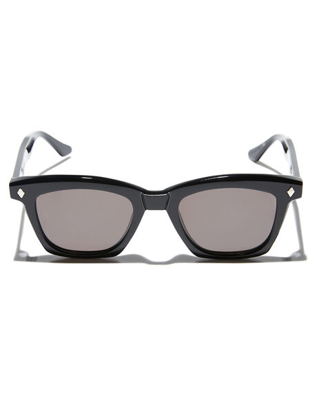 GLOSS BLACK SILVER MENS ACCESSORIES VALLEY SUNGLASSES - S0482GBLK