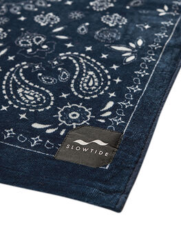 NAVY MENS ACCESSORIES SLOWTIDE TOWELS - ST184NVY