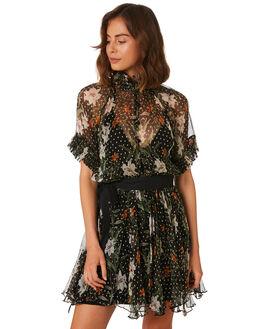 PARADISE FLORAL DA WOMENS CLOTHING MLM LABEL DRESSES - MLM495C-PAR