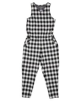 CHECK KIDS GIRLS TINY TRIBE DRESSES + PLAYSUITS - TTGW18-6026ACHK