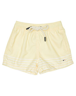 YELLOW KIDS TODDLER BOYS ROOKIE BY THE ACADEMY BRAND BOARDSHORTS - R19S706YEL