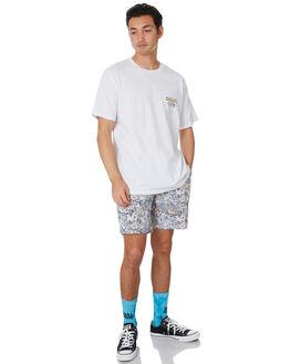 WHITE MENS CLOTHING BARNEY COOLS TEES - 106-Q220WHT