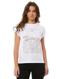 WHITE WOMENS CLOTHING BILLABONG TEES - 6585007WHT