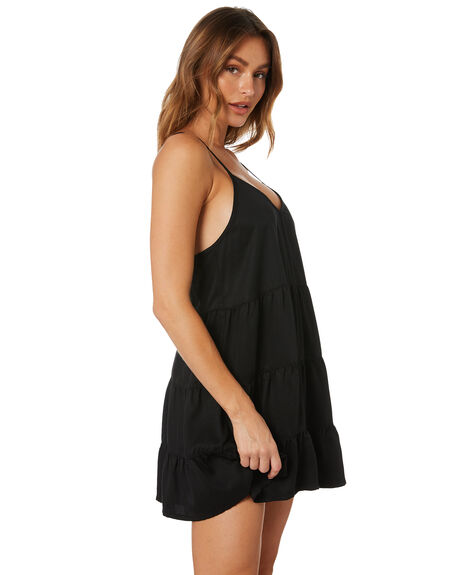 BLACK WOMENS CLOTHING ALL ABOUT EVE DRESSES - 6463249BLK