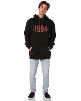 BLACK MENS CLOTHING RPM JUMPERS - 9AMT14ABLK