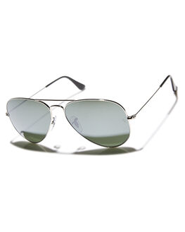 SILVER CRYSTAL GREY UNISEX ADULTS RAY-BAN SUNGLASSES - 0RB302558W3277