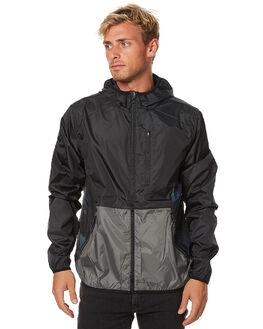 GUNMETAL MENS CLOTHING DEPACTUS JACKETS - AM060012GMTL