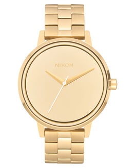 LIGHT GOLD MIRROR WOMENS ACCESSORIES NIXON WATCHES - A0992764