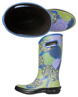 PURPLE MULTI WOMENS FOOTWEAR BOGS FOOTWEAR BOOTS - 972355545
