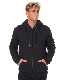 BLACK MENS CLOTHING QUIKSILVER JUMPERS - EQYFT03569KVJ0