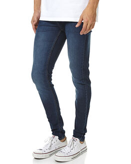 DIM BLUE MENS CLOTHING CHEAP MONDAY JEANS - 0355058DIMBL