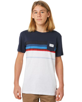 NAVY KIDS BOYS RIP CURL TOPS - KTEUN20049