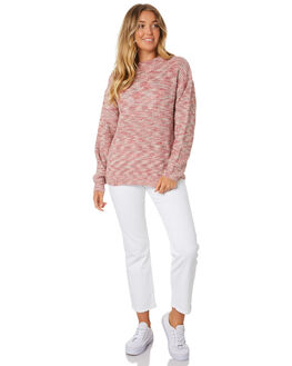WASHED RED WOMENS CLOTHING RUSTY KNITS + CARDIGANS - CKL0353WIR