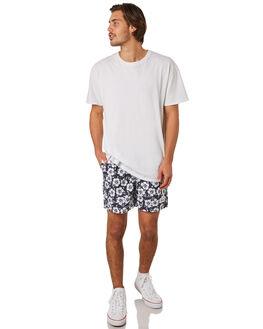 NAVY 2 MENS CLOTHING OKANUI BOARDSHORTS - OKCM1809NVY