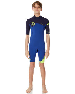 NITE BLUE BLUE RIBBON SURF WETSUITS QUIKSILVER SPRINGSUITS - EQBW503004XBBB