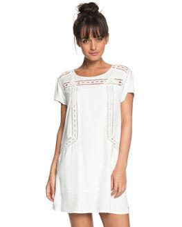 MARSHMALLOW WOMENS CLOTHING ROXY DRESSES - ERJWD03239WBT0