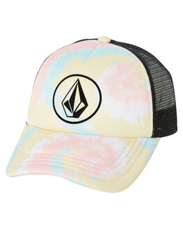 WHITE KIDS GIRLS VOLCOM HEADWEAR - E55119Y0WHT