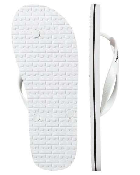 WHITE MENS FOOTWEAR BILLABONG THONGS - 9672936WHITE