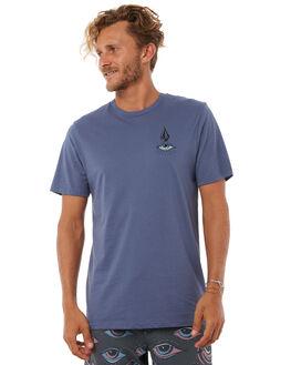 DEEP BLUE MENS CLOTHING VOLCOM TEES - A5011805DPB