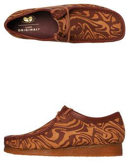 BROWN MULTI MENS FOOTWEAR CLARKS ORIGINALS BOOTS - SS26147073BROM
