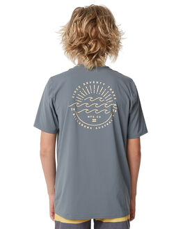 GRAPHITE SURF RASHVESTS BILLABONG BOYS - 8772023GRPH