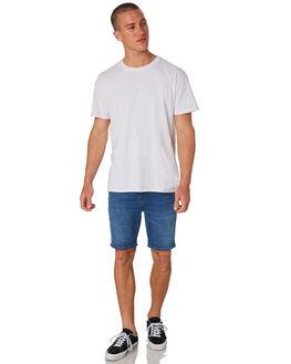STELLAR BLUE MENS CLOTHING LEE SHORTS - L-606423-E81SBLU