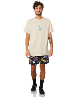 WARM WHITE MENS CLOTHING MISFIT TEES - MT093003WRMWH